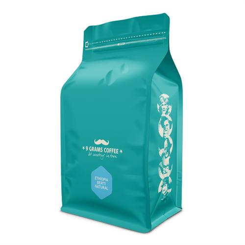 9 Grams Coffee Ethiopia Halu Beriti Natural