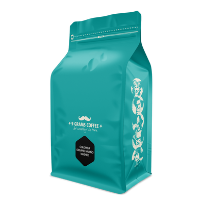 9 Grams Coffee Colombia Organic Nariño Washed