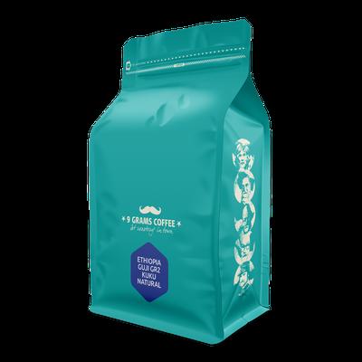 9 Grams Coffee Ethiopia KUKU natural GR2