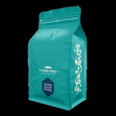 9 Grams Coffee Ethiopia Limu Gr1 Natural