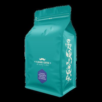 9 Grams Coffee Ethiopia Yirgacheffe Orchidea gr2 washed